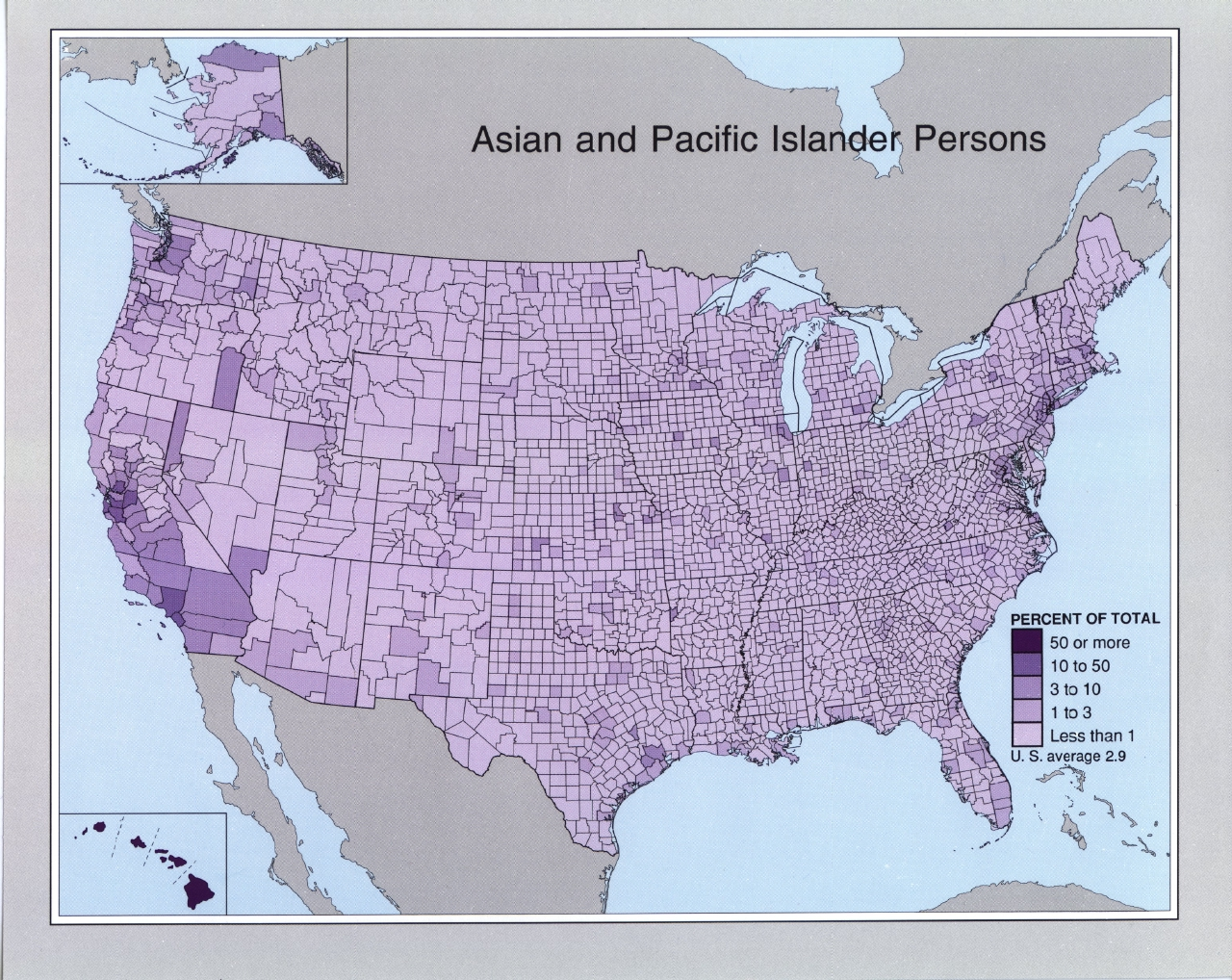 Race And Hispanic Origin Population Density Geography - Map of the us population density