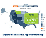 Interactive Apportionment Map
